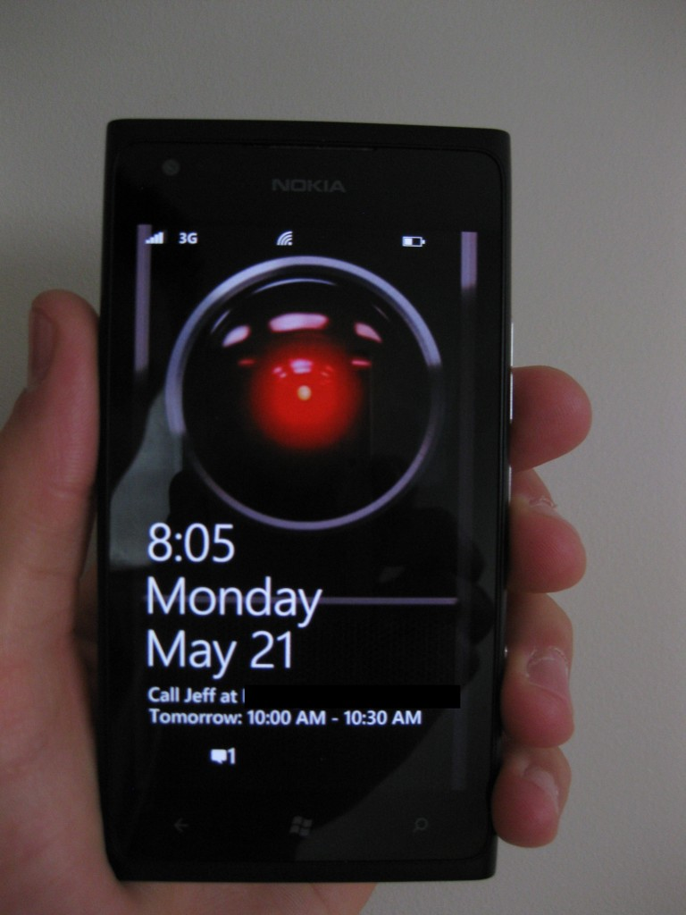 Nokia Lumia 900 HAL 9000
