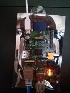 Raspberry Pi turned On