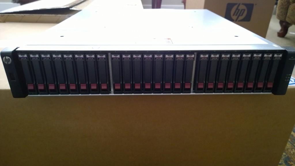 HP MSA 2040 SAN - Front Image