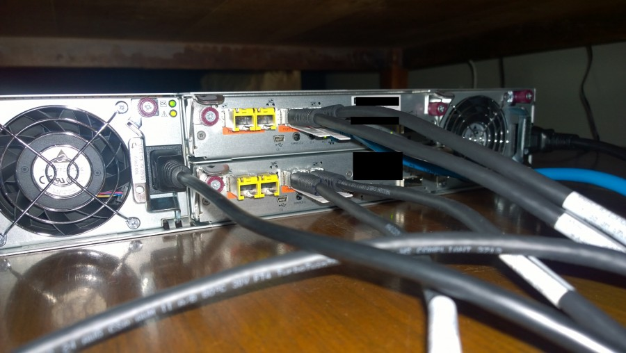 HP MSA2040 DAC Connection