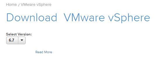 VMware vSphere 6.7 Download