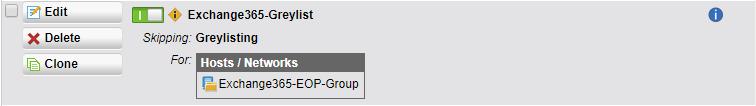Sophos UTM SMTP Exception Rule