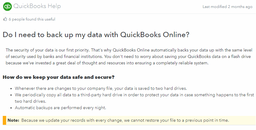 QuickBooks Archives - The time I've wasted on technology