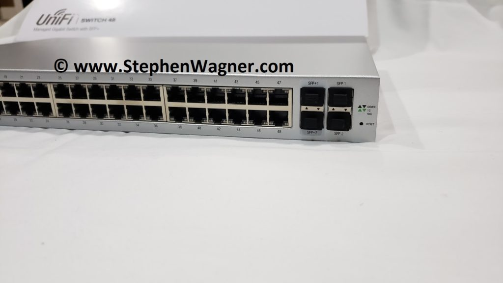 Right view of UniFi Switch 48 Part# US-48