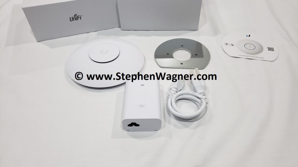 Ubiquiti UniFi nanoHD Wireless Access Point unboxing