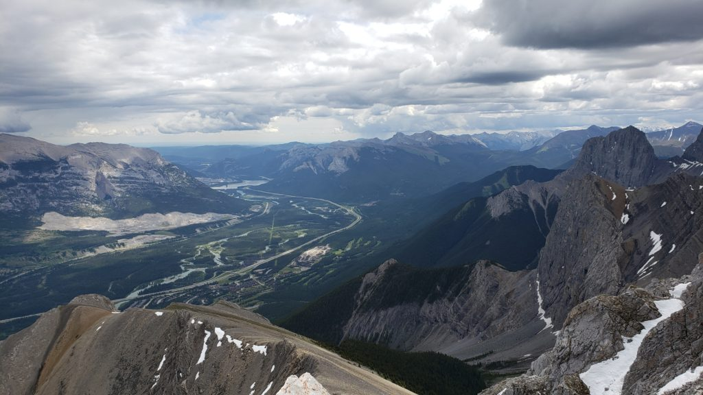 View from Summit at Mount Lawrence Grassi