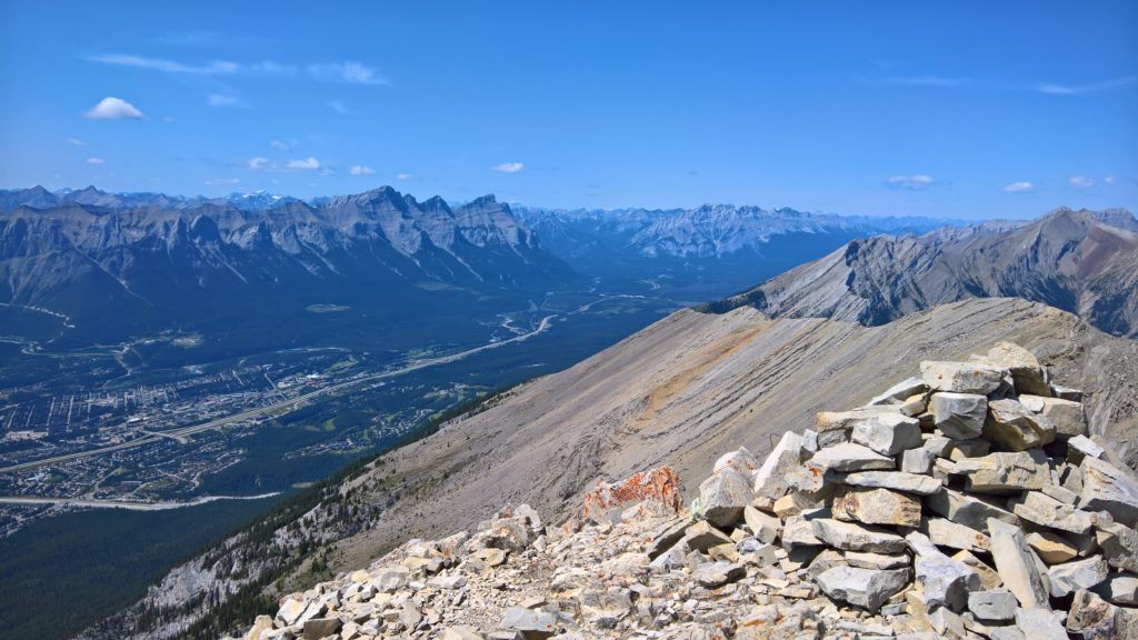 Summit view from Grotto Mountain