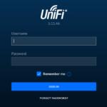 Ubiquiti UniFi Controller Login Screen