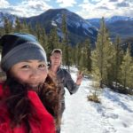 Picture of Stephen Wagner and Charlene Shang hiking on Prairie Mountain