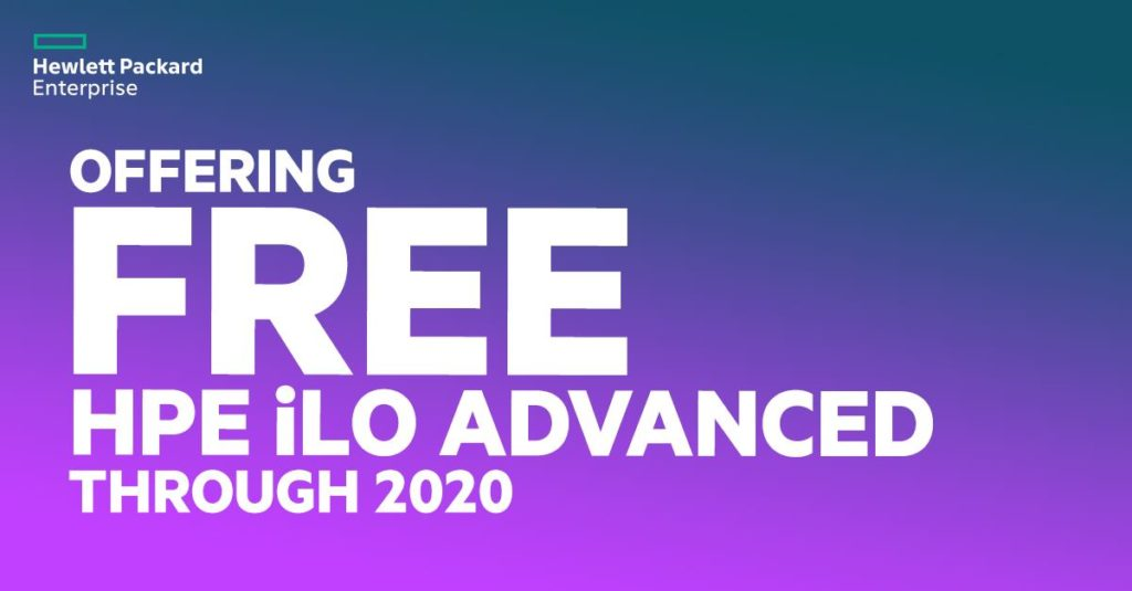 Free iLO Advanced License