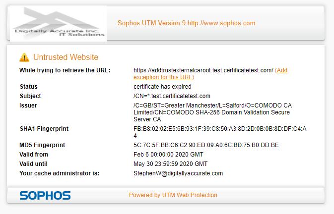 UntrustedWebsite - Sophos Utm Ssl Vpn Client Download