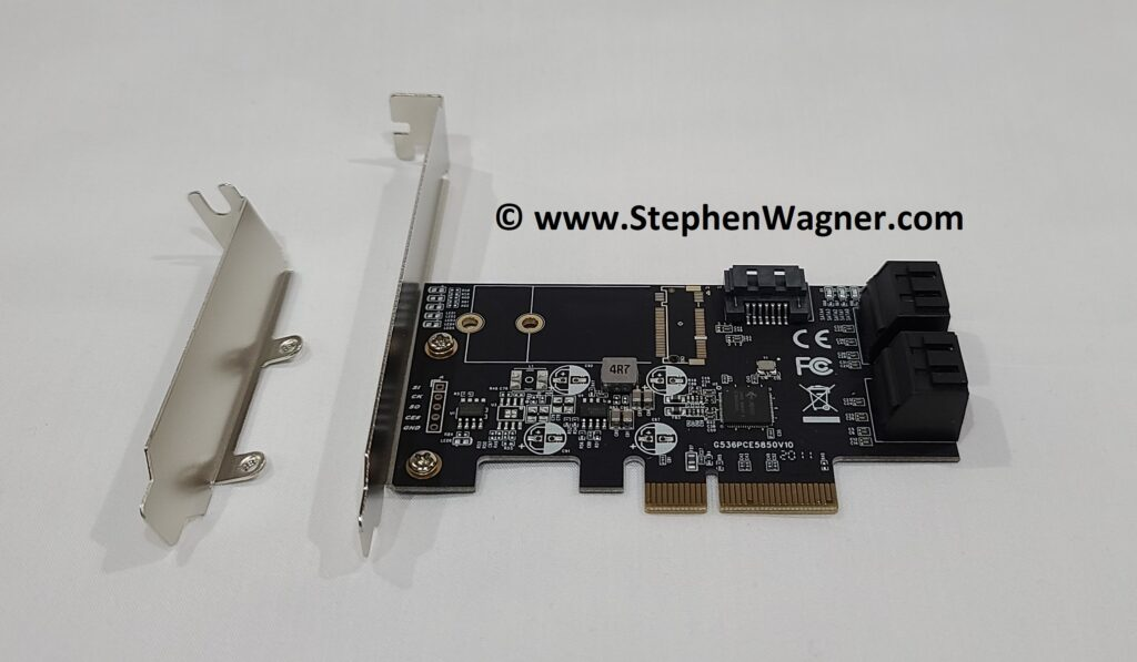 Picture of an IO-PCE585-5I PCIe Card