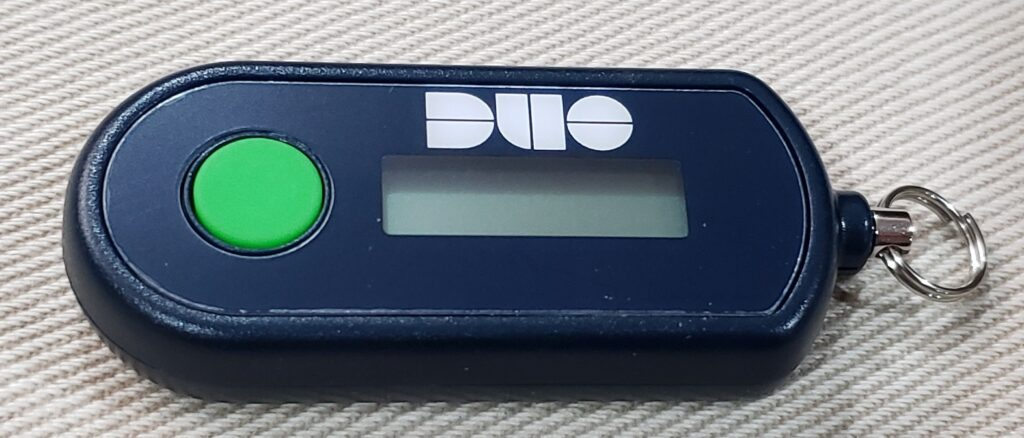 Picture of Duo D-100 HOTP Hardware Token